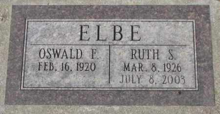 ELBE, RUTH S. - Yankton County, South Dakota | RUTH S. ELBE - South Dakota Gravestone Photos