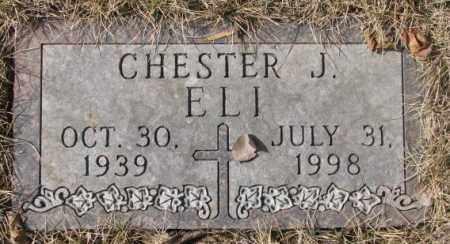 ELI, CHESTER J. - Yankton County, South Dakota   CHESTER J. ELI - South Dakota Gravestone Photos
