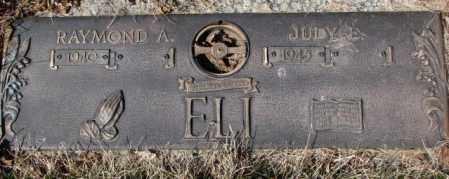 ELI, RAYMOND A. - Yankton County, South Dakota | RAYMOND A. ELI - South Dakota Gravestone Photos