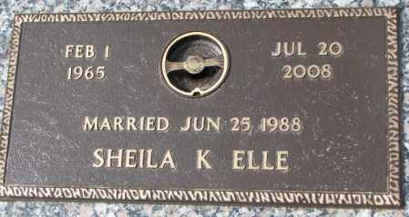 ELLE, SHEILA K. - Yankton County, South Dakota | SHEILA K. ELLE - South Dakota Gravestone Photos