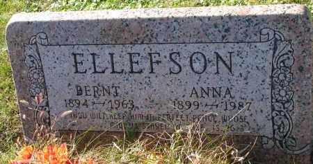 ELLEFSON, BERNT - Yankton County, South Dakota | BERNT ELLEFSON - South Dakota Gravestone Photos