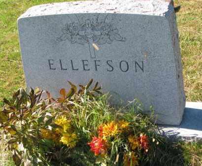 ELLEFSON, FAMILY STONE - Yankton County, South Dakota   FAMILY STONE ELLEFSON - South Dakota Gravestone Photos