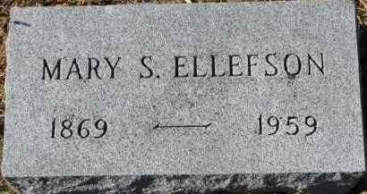 ELLEFSON, MARY S. - Yankton County, South Dakota   MARY S. ELLEFSON - South Dakota Gravestone Photos