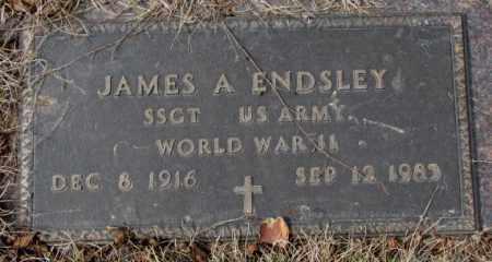 ENDSLEY, JAMES A. - Yankton County, South Dakota | JAMES A. ENDSLEY - South Dakota Gravestone Photos