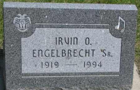 ENGELBRECHT, IRVIN O. SR. - Yankton County, South Dakota   IRVIN O. SR. ENGELBRECHT - South Dakota Gravestone Photos