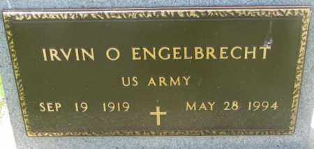 ENGELBRECHT, IRVIN O. (MILITARY) - Yankton County, South Dakota | IRVIN O. (MILITARY) ENGELBRECHT - South Dakota Gravestone Photos
