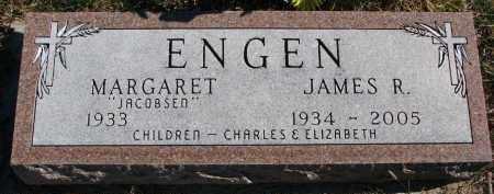 ENGEN, JAMES R. - Yankton County, South Dakota | JAMES R. ENGEN - South Dakota Gravestone Photos