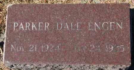 ENGEN, PARKER DALE - Yankton County, South Dakota | PARKER DALE ENGEN - South Dakota Gravestone Photos