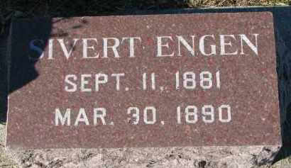 ENGEN, SIVERT - Yankton County, South Dakota | SIVERT ENGEN - South Dakota Gravestone Photos