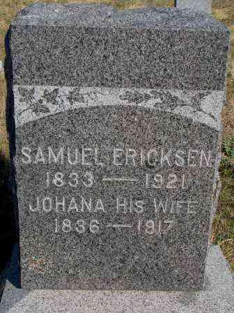 ERICKSEN, JOHANA - Yankton County, South Dakota | JOHANA ERICKSEN - South Dakota Gravestone Photos
