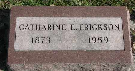 ERICKSON, CATHARINE E. - Yankton County, South Dakota | CATHARINE E. ERICKSON - South Dakota Gravestone Photos
