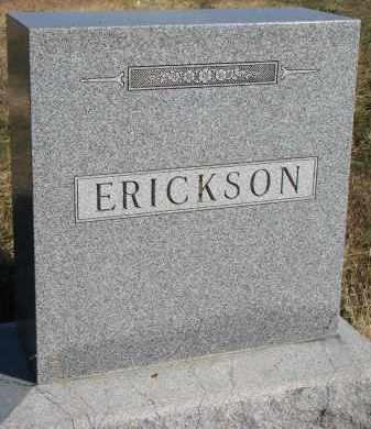 ERICKSON, FAMILY STONE - Yankton County, South Dakota   FAMILY STONE ERICKSON - South Dakota Gravestone Photos