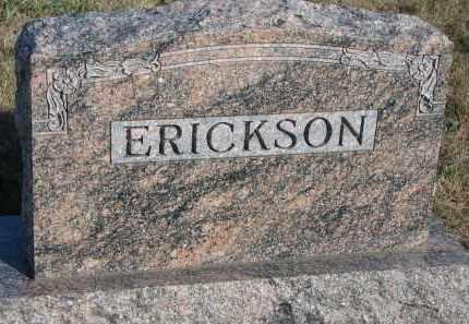 ERICKSON, FAMILY STONE - Yankton County, South Dakota | FAMILY STONE ERICKSON - South Dakota Gravestone Photos