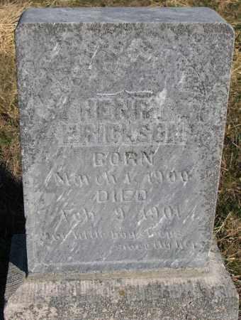 ERICKSON, HENRY - Yankton County, South Dakota | HENRY ERICKSON - South Dakota Gravestone Photos