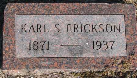 ERICKSON, KARL S. - Yankton County, South Dakota | KARL S. ERICKSON - South Dakota Gravestone Photos