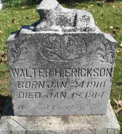 ERICKSON, WALTER - Yankton County, South Dakota   WALTER ERICKSON - South Dakota Gravestone Photos