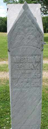 ESMAY, AUSTIN W. - Yankton County, South Dakota | AUSTIN W. ESMAY - South Dakota Gravestone Photos