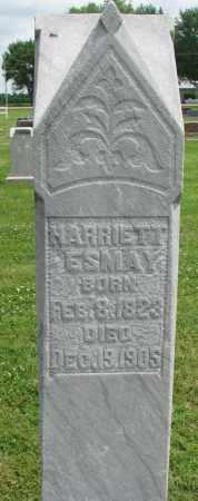 ESMAY, HARRIETT - Yankton County, South Dakota | HARRIETT ESMAY - South Dakota Gravestone Photos