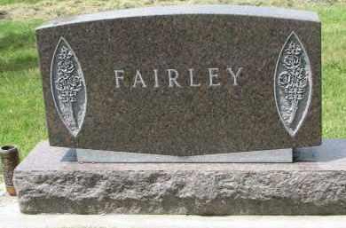FAIRLEY, FAMILY STONE - Yankton County, South Dakota | FAMILY STONE FAIRLEY - South Dakota Gravestone Photos