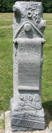 FAIRLEY, LYDIA - Yankton County, South Dakota | LYDIA FAIRLEY - South Dakota Gravestone Photos