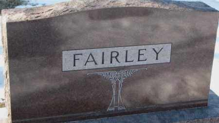 FAIRLEY, PLOT - Yankton County, South Dakota | PLOT FAIRLEY - South Dakota Gravestone Photos
