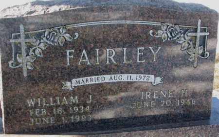 FAIRLEY, WILLIAM J. - Yankton County, South Dakota | WILLIAM J. FAIRLEY - South Dakota Gravestone Photos