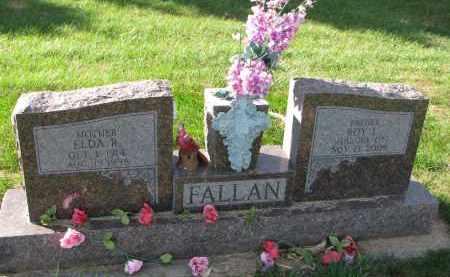 FALLAN, ELDA R. - Yankton County, South Dakota | ELDA R. FALLAN - South Dakota Gravestone Photos