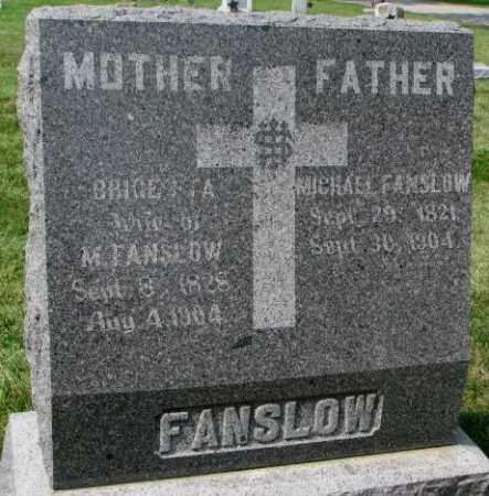 FANSLOW, MICHAEL - Yankton County, South Dakota | MICHAEL FANSLOW - South Dakota Gravestone Photos