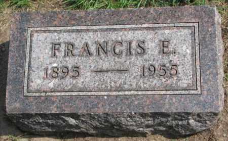 FANSLOW, FRANCIS E. - Yankton County, South Dakota | FRANCIS E. FANSLOW - South Dakota Gravestone Photos