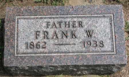 FANSLOW, FRANK W. - Yankton County, South Dakota | FRANK W. FANSLOW - South Dakota Gravestone Photos
