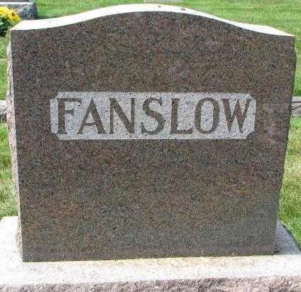 FANSLOW, PLOT - Yankton County, South Dakota   PLOT FANSLOW - South Dakota Gravestone Photos