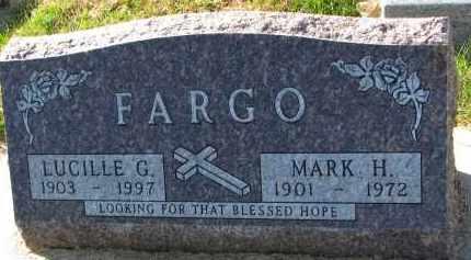 FARGO, LUCILLE G. - Yankton County, South Dakota | LUCILLE G. FARGO - South Dakota Gravestone Photos
