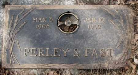 FAST, PERLEY S. - Yankton County, South Dakota | PERLEY S. FAST - South Dakota Gravestone Photos