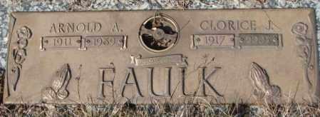 FAULK, CLORICE J. - Yankton County, South Dakota | CLORICE J. FAULK - South Dakota Gravestone Photos