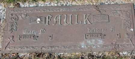 FAULK, JERRY M. - Yankton County, South Dakota | JERRY M. FAULK - South Dakota Gravestone Photos