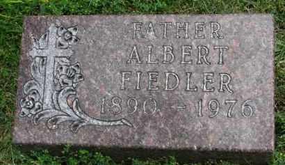 FIEDLER, ALBERT - Yankton County, South Dakota | ALBERT FIEDLER - South Dakota Gravestone Photos