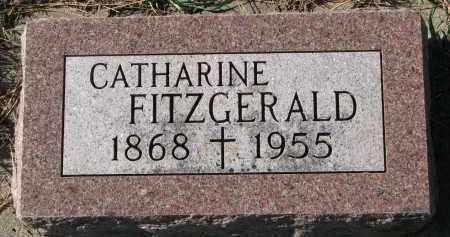 FITZGERALD, CATHARINE - Yankton County, South Dakota   CATHARINE FITZGERALD - South Dakota Gravestone Photos