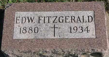 FITZGERALD, EDW. - Yankton County, South Dakota | EDW. FITZGERALD - South Dakota Gravestone Photos
