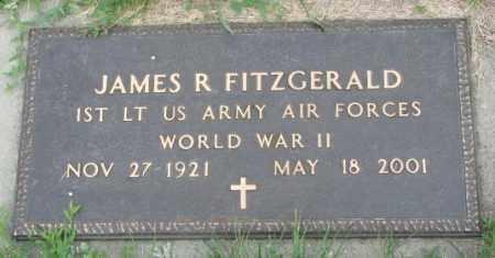 FITZGERALD, JAMES R. (WW II) - Yankton County, South Dakota | JAMES R. (WW II) FITZGERALD - South Dakota Gravestone Photos