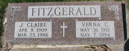 FITZGERALD, VERNA C. - Yankton County, South Dakota | VERNA C. FITZGERALD - South Dakota Gravestone Photos
