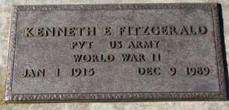 FITZGERALD, KENNETH E. (WW II) - Yankton County, South Dakota | KENNETH E. (WW II) FITZGERALD - South Dakota Gravestone Photos