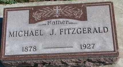 FITZGERALD, MICHAEL J. - Yankton County, South Dakota | MICHAEL J. FITZGERALD - South Dakota Gravestone Photos