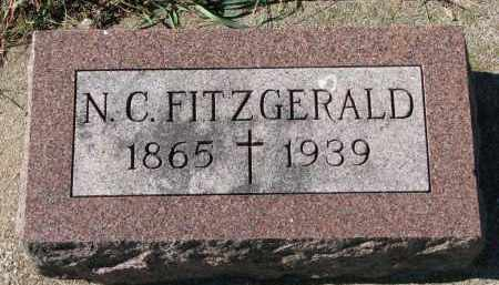 FITZGERALD, N.C. - Yankton County, South Dakota   N.C. FITZGERALD - South Dakota Gravestone Photos