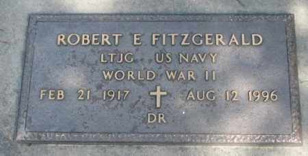 FITZGERALD, ROBERT E. (WW II) - Yankton County, South Dakota   ROBERT E. (WW II) FITZGERALD - South Dakota Gravestone Photos