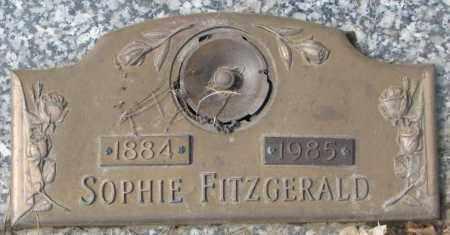 FITZGERALD, SOPHIE - Yankton County, South Dakota | SOPHIE FITZGERALD - South Dakota Gravestone Photos