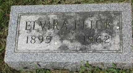 FLICK, ELVIRA - Yankton County, South Dakota | ELVIRA FLICK - South Dakota Gravestone Photos
