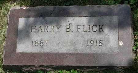 FLICK, HARRY B. - Yankton County, South Dakota | HARRY B. FLICK - South Dakota Gravestone Photos