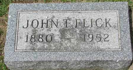 FLICK, JOHN - Yankton County, South Dakota | JOHN FLICK - South Dakota Gravestone Photos