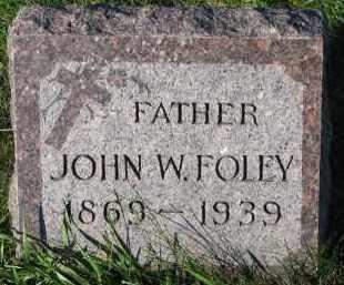 FOLEY, JOHN W. - Yankton County, South Dakota | JOHN W. FOLEY - South Dakota Gravestone Photos