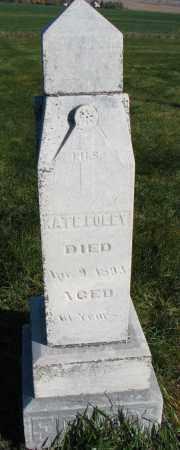 FOLEY, KATE - Yankton County, South Dakota   KATE FOLEY - South Dakota Gravestone Photos